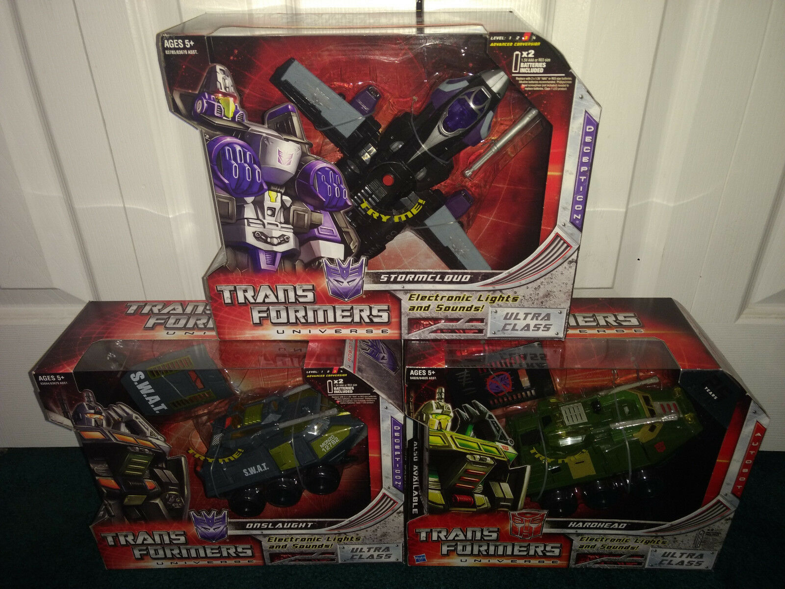 Onslaught Stormcloud Hardhead Ultra LOT  Transformers Universe Hasbro tutti MISP   disponibile