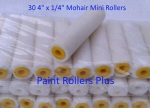 Mohair-Mini-Paint-Rollers-30-4-034-x-1-4-034-Free-Shipping
