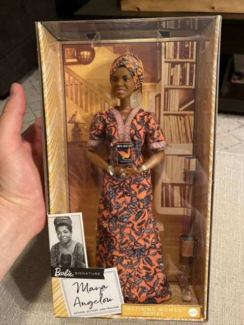 Maya Angelou Doll Barbie Signature Inspiring Women Series Collector Doll NEW