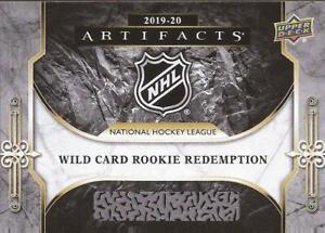 WILD-CARD-2019-20-UD-Artifacts-Rookie-Redemption-RED213