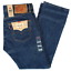 NEW-MENS-LEVIS-501-PREWASHED-ORIGINAL-FIT-STRAIGHT-LEG-BUTTON-FLY-JEANS-PANTS thumbnail 20