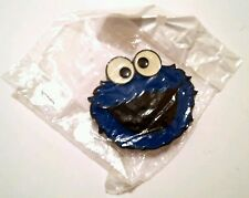 MEGA RARE, NEW - THE MUPPET SHOW COOKIE MONSTER CHARACTER BELT BUCKLE