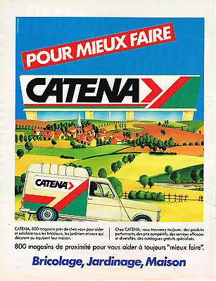 Diligent Publicite Advertising 064 1984 Catena Magasin Bricolage Jardinage Maison Other Breweriana