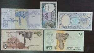 Egypt-5-uncirculate-bank-note