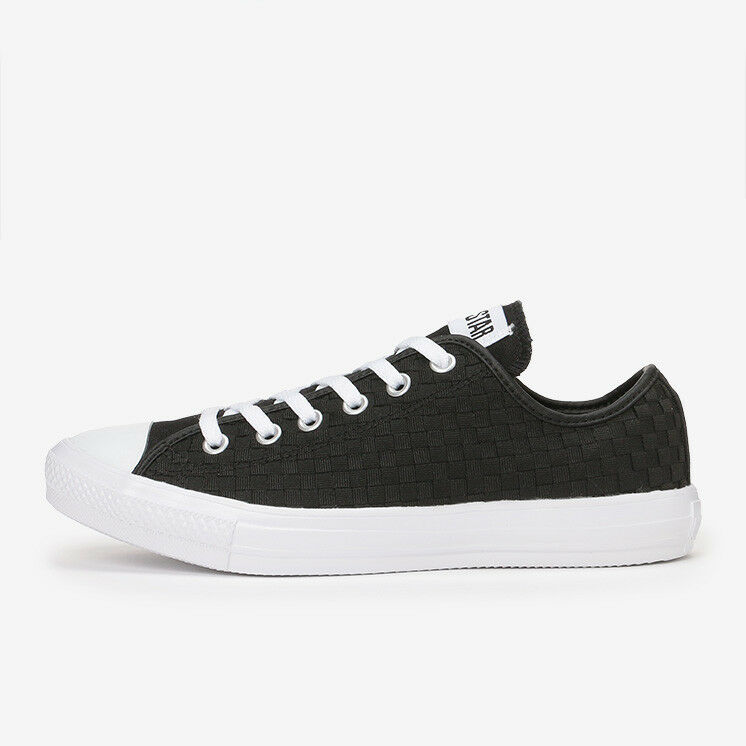 CONVERSE ALL STAR LIGHT WOVEN OX Black Chuck Taylor Japan Exclusive