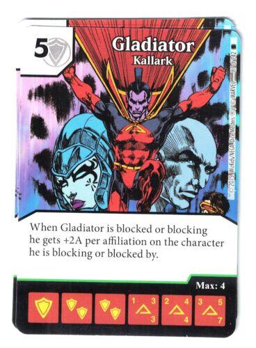 Gladiator Kallark 87//142 Card /& Die Marvel Dice Masters Spider-Man