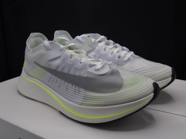 best service 28982 53edf Nike Zoom Fly SP White  Volt AJ9282-107