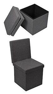 ... Kleiner Beistell Klapp Stuhl Multifunktion Box Truhe Sitz