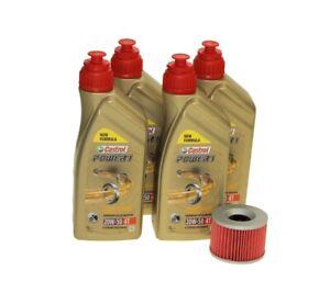 Oil Change Set 4l Castrol 10w -50+ Oil Filter hf160 for