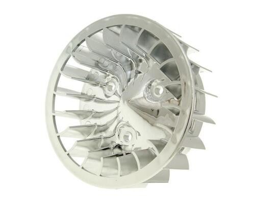 Lüfterrad Chrom für MBK Mach G 50 AC