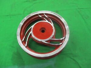 New Aluminum 10 Inch 10 Motor Scooter Rear 50cc Rim Wheel Moped Part Red Gy6 Ebay