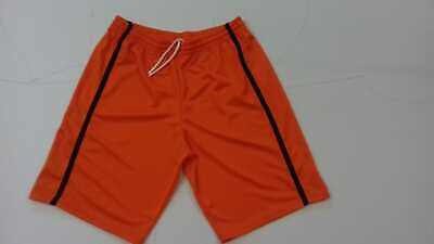 Footex Pantaloncino Bermuda Basket Free Time Colore Arancio/nero Made In Italy