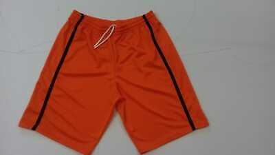 Iniziativa Footex Pantaloncino Bermuda Basket Free Time Colore Arancio/nero Made In Italy