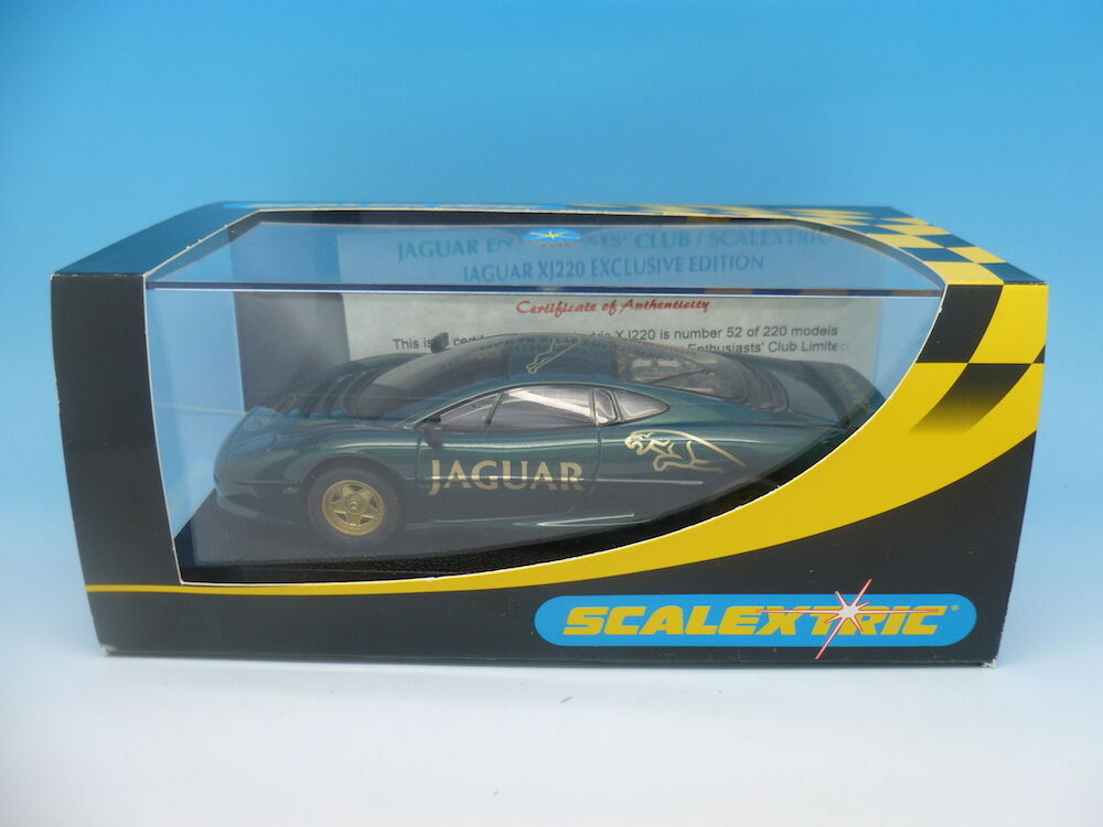 Scalextric Jaguar XJ220, Jag Club Exclusive only 220