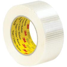 3m Scotch Bi Directional Filament Strapping Tape 8959 50mm X 50m New Heavy Duty