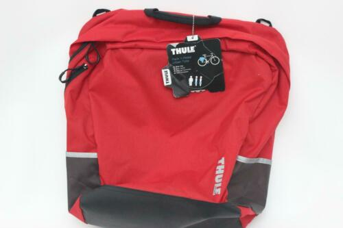 Thule Pack /'n Pedal Urban Tote Red Shoulder Strap 26.5L Pannier Cycling Bike