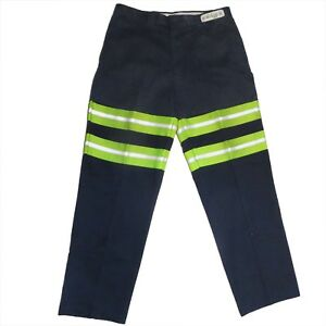 Details about Used High Visibility Reflective Uniform Work Pants Cintas,  Unifirst, Redkap