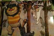 WHERE THE WILD THINGS ARE GREAT BIG FLOOR PUZZLE BY MAURICE SENDAK 2' X 3'