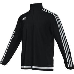 Adidas 3 Stripes Tracksuit Jacket Full Zip Black/white Sizes Small & Med Bnwt