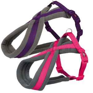 Trixie-Dog-Premium-Touring-Harness-Soft-Thick-Fleece-Lined-Padding-Strong