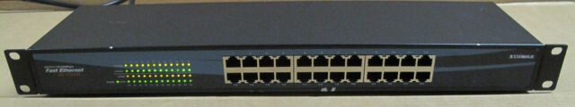 Edimax ES-3124RL 24-Port 10/100Mbps Fast Ethernet Switch, Network Switches