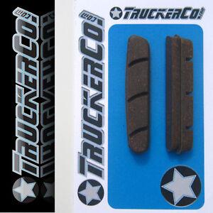 Black Compound New ENVE Carbon Brake Shoes Pads Inserts Shimano//SRAM 1 Pair