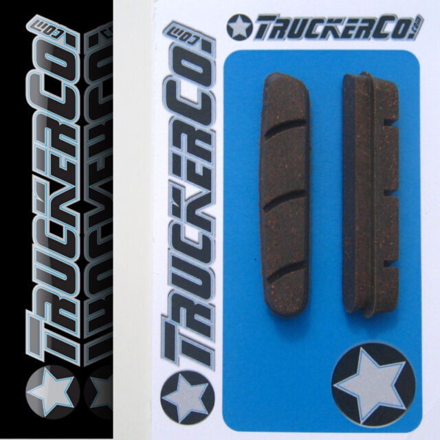 1 pair Carbon Rim TruckerCo Brake Pads Campagnolo Zero Gravity and BRE-700
