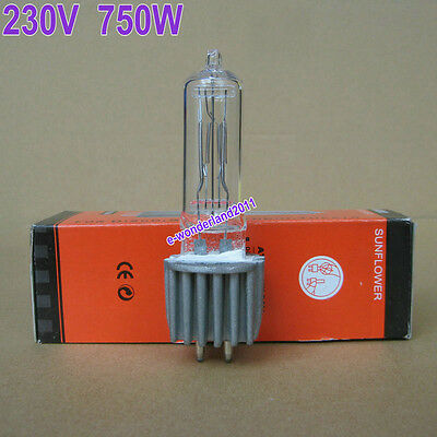 HPL 750W Watt 230V GX9.5 Stage Lamp Light Bulb Halogen 750 Lamp Bulb FSH