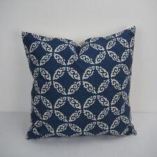 """18""""x45cm Navy Printed 006 Cotton Linen Decor Cushion cover Pillowcase"""