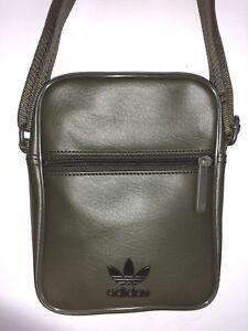 74b8ea2bf0ed Image is loading Genuine-Adidas-Trefoil-Side-Bag-Unisex-Cross-Shoulder-