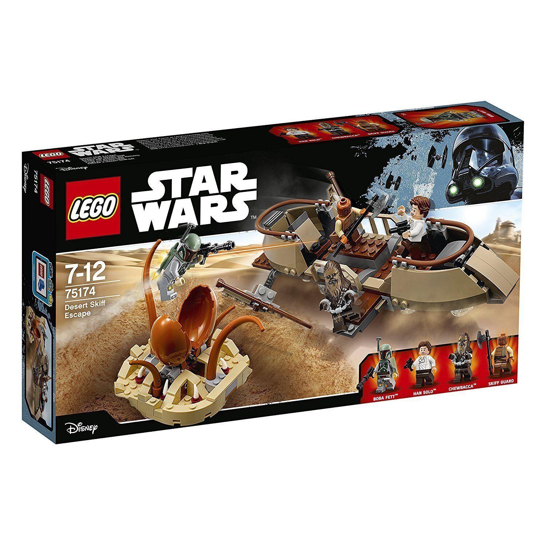 Lego Star Wars™ 75174 Deserto Skiff Escape Nuovo Confezione Originale Misb