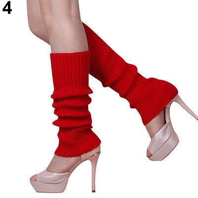 WOMEN CHARISMATIC KNIT WINTER LEG WARMERS STOCKING NICE LEGGING CHIC BOOT SOCKS