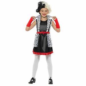 Costume Da Dalmata Per Bambini Bambine World Book Day Settimana Abito Vestito