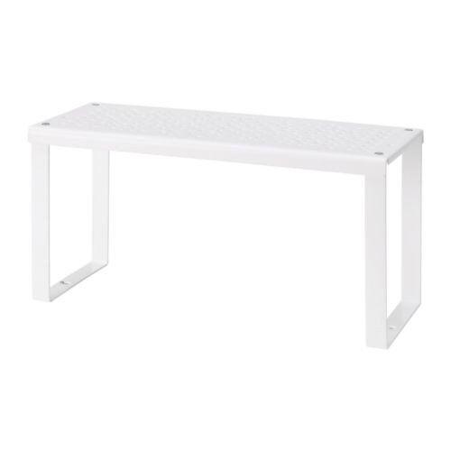 """IKEA Regaleinsatz /""""VARIERA/"""" klappbarer Schrank-Einlegeboden WEISS 32x13x16cm"""