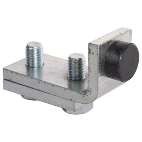 MEA Rohrpuffer Typ 1-2 Laufwerksabschluss für Scheinentor Stahlltor