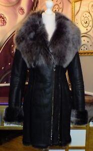 Damen 36 Gr Luxus Toskana Design 34 Fell Lammfellmantel 6CCOqgvw