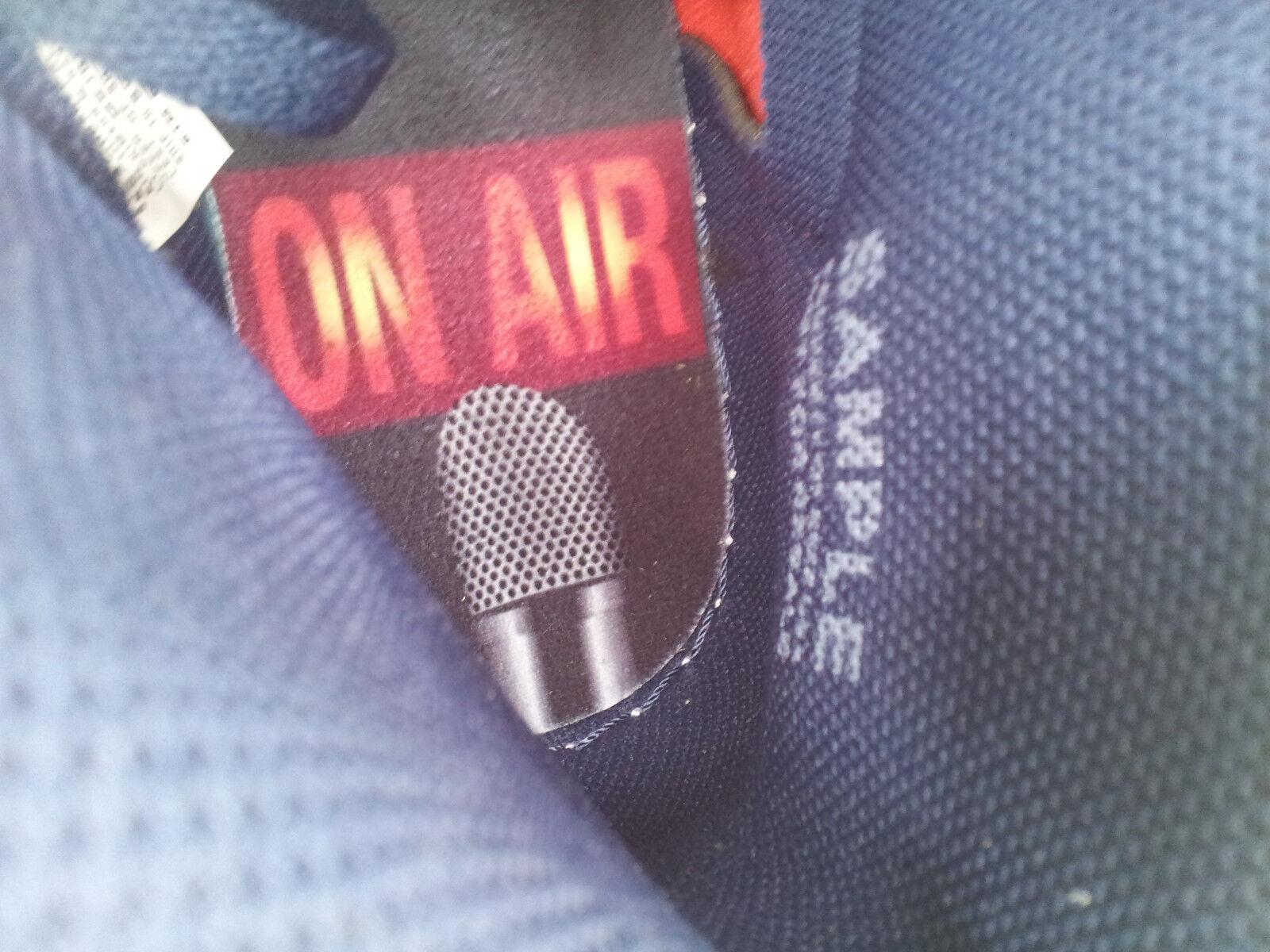Nike air jordan 1 letterman retro - hohe og david letterman 1 stichprobe turnschuhe mens größe 9. ROT 8d7ab6