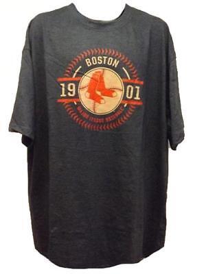 Herrlich Neu Boston Red Sox Est 1901 Herrengrößen 3xl-4xl Marineblau Groß & Hoch Dauerhaft Im Einsatz Weitere Ballsportarten