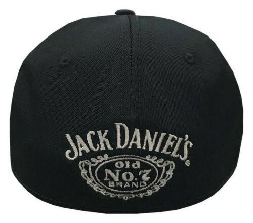 Jack Daniels Men/'s Performance Baseball Cap Hat Poly//Spandex Black//Gray JD77-114