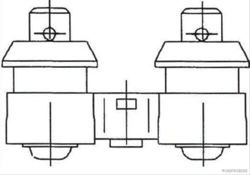 buss elparts 56370046 cuerno 1x original herth