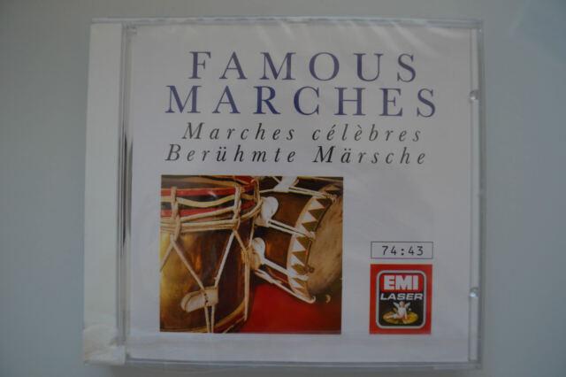 Famous Marches Berühmte Märsche - Kurtz, Paul Strauss - EMI Laser CD Neu OVP NEW