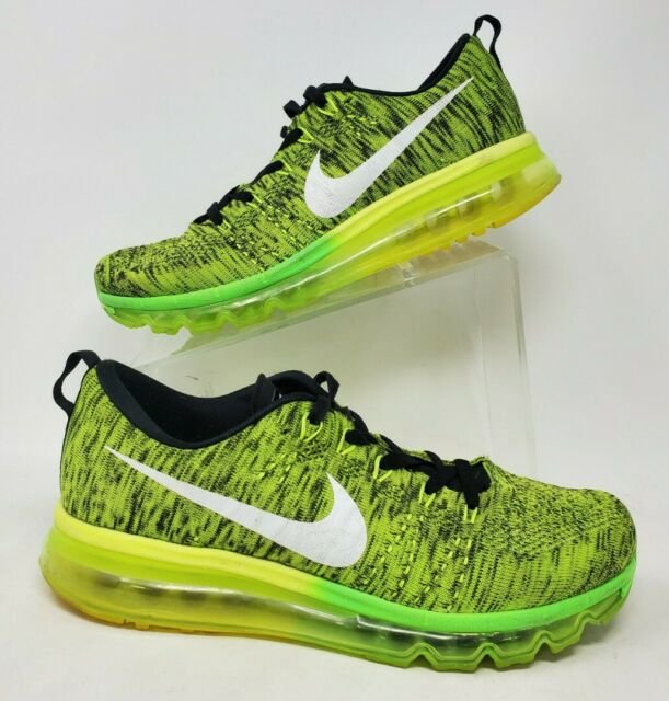Mens sz 8 Nike Air Max Flyknit 2015 Athletic Trainer Shoes