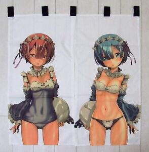 Re-Zero-Kara-hajimeru-Isekai-Seikatsu-anime-japonesa-Gardine-puerta-cortina-nuevo