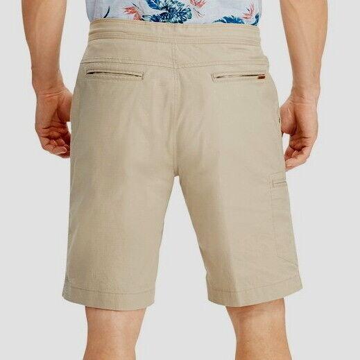 Men/'s Big/&Tall Chaps Comfort Stretch Waistband Cargo Shorts