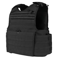 Condor 201147 BLACK Enforcer Releasable Quick-Release Body Armor Plate Carrier
