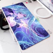 New 90*40cm Hatsune Miku theme big Thick platmat computer laptop mouse pad