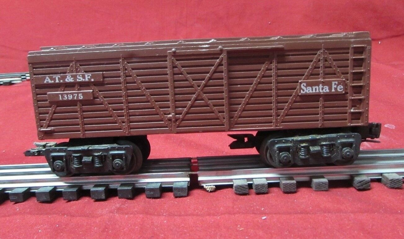 Mar Mar Line Santa Fe Freight Cattle Car AT&SF O Gauge OB