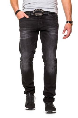 JACK /& JONES Hommes Slim Fit Jeans STRETCHJEANS pantalon court Pantalons Pantalon