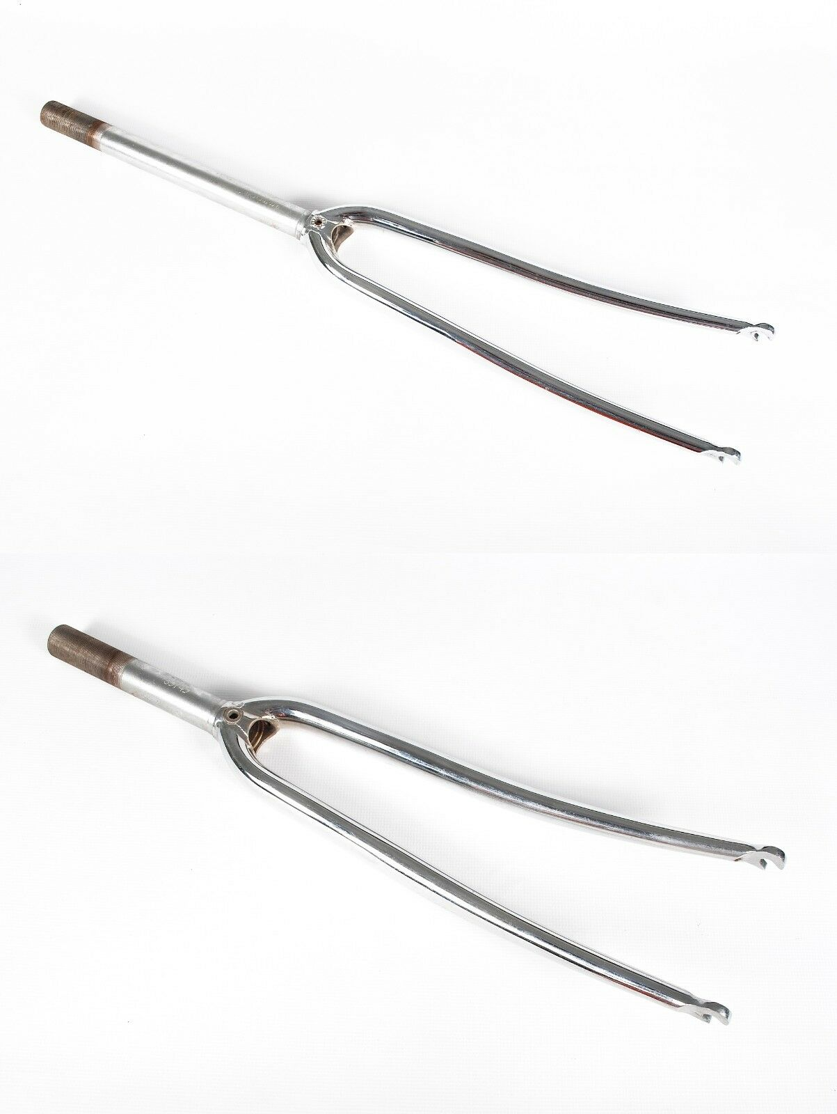 Vintage Bicycle  Fork 1  Threaded Aero Blades Chrome Steel Road Bike Fork NOS  support wholesale retail