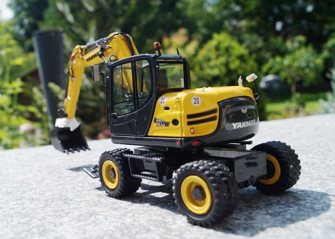 NZG Yanmar b110w mobile Excavateurs Scale 1 50 neuf neuf neuf neuf dans sa boîte 1d27f8